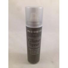Glitterspray zilver - 150 ml