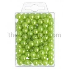 Parels Oasis® - 10 mm - bright green - 120 stuks