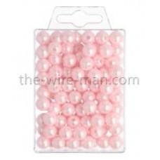 Parels - 10 mm - rose - 115 stuks