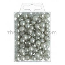Parels Oasis® - 10 mm - zilver - 120 stuks