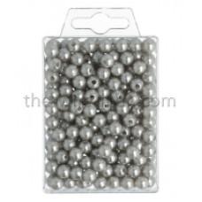 Parels  - 8 mm - zilver - 250 stuks