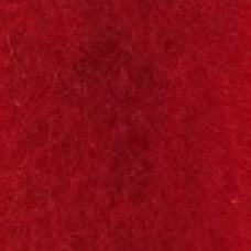Vilt, rood, 15 cm x 1 m