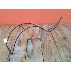 Frame snake 60 x 15 x h15 cm, zwart