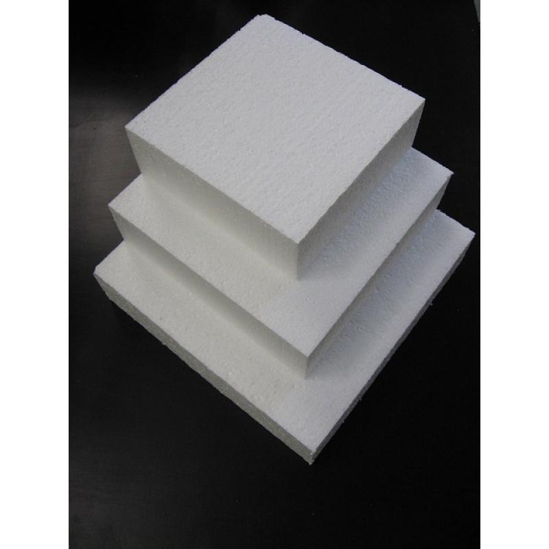 styropor taart styropor taart vierkant 20 x 20 x 7 cm styropor taart