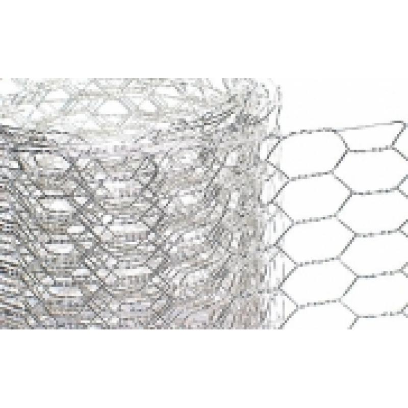 hexagon wire netting 3 m/width 30cm, silver