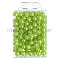 Parels Oasis® - 10 mm - bright green - 120 stuks